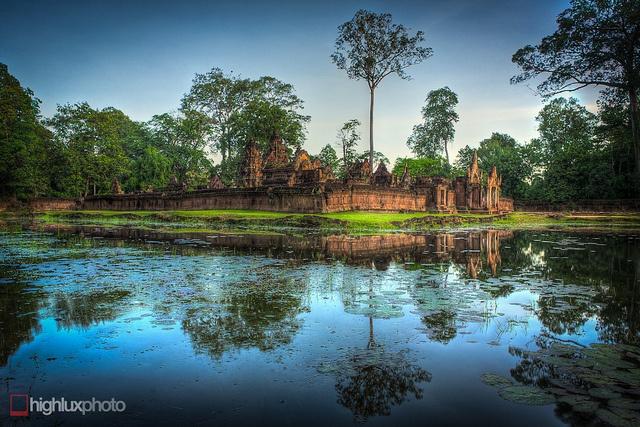 Banteay Srey, Cambodia, via Flickr