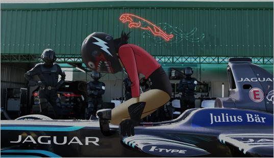 Jaguar Formula E & Noodle Gorillaz Guitarist- Racing Full Speed http://brandedpleasures.com/jaguar-formula-e-noodle-gorillaz-guitarist/