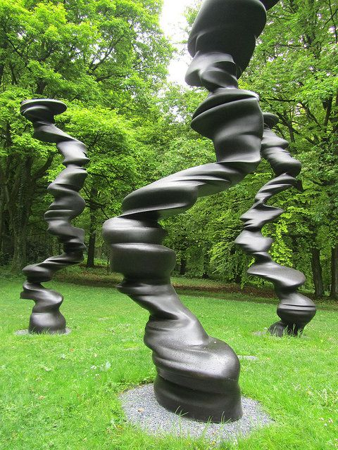 """Points Of View"", Sculpture by Tony Cragg, 2007, Bronze"