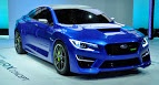 "Subaru said that the pronounced powerbulge ""provides clearance for the new turbocharged engine and intercooler"", but other than that, it provided no other details about the WRX's powertrain.   In addition and always according to the Japanese carmaker, ""to further improve handling dynamics, the SUBARU WRX CONCEPT features a carbon-fiber roof to enhance."
