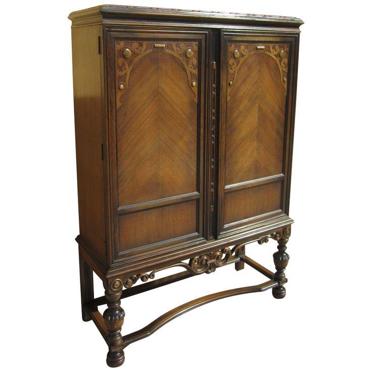 American Antique Berkeyu0026 Gay China Cabinet Server Antique Furniture!