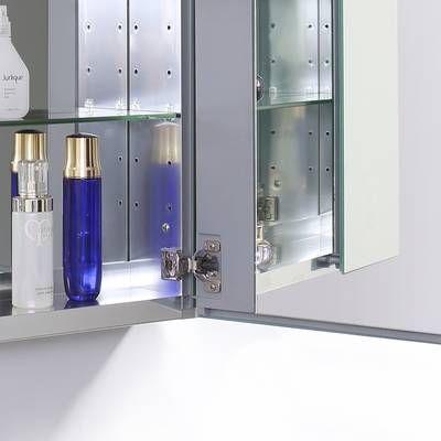 K Cb Clc2026fs Kohler 20 X 26 Aluminum Medicine Cabinet With Mirrored Door Reviews Wayfair