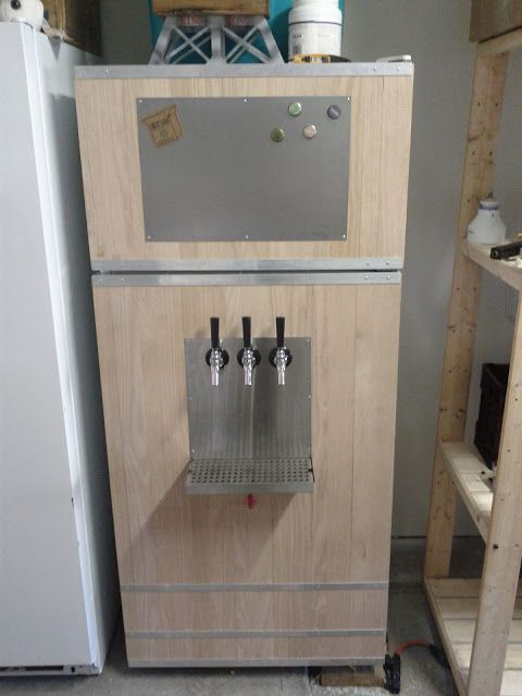 Show Us Your Upright Refrigerator Quot Kegerator Quot Conversion
