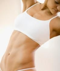 fit woman with abs