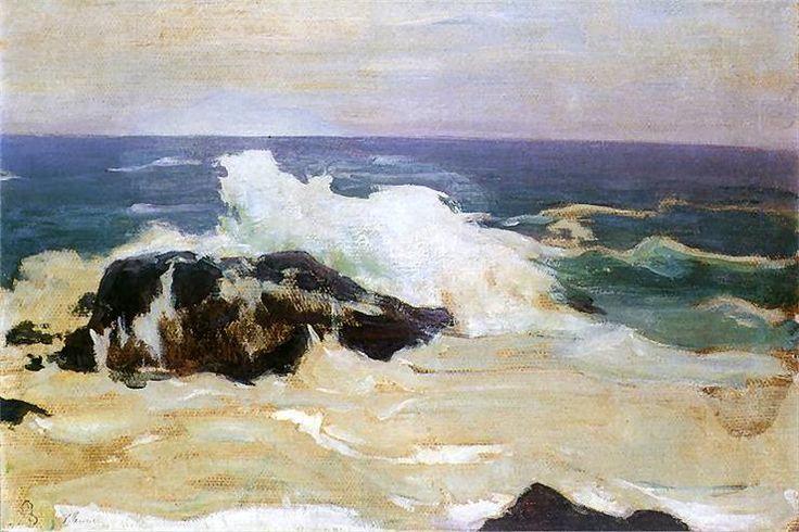 Władysław Ślewiński: Morze w Le Pouldu