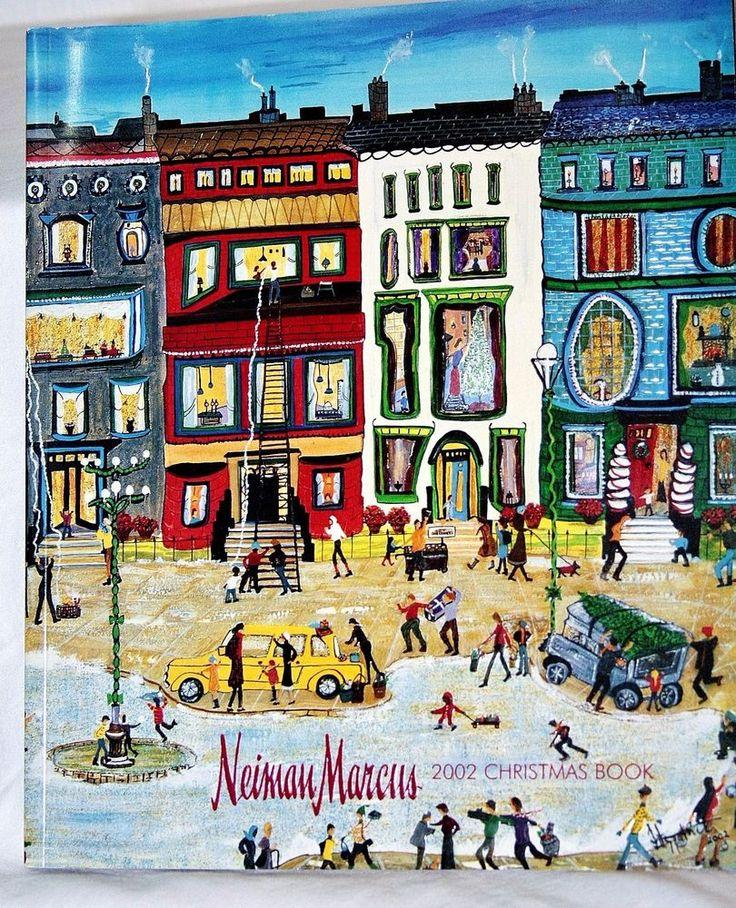 Vintage Neiman Marcus Christmas Catalog 2001 Book Hoiday Gift Fashion Cover Art