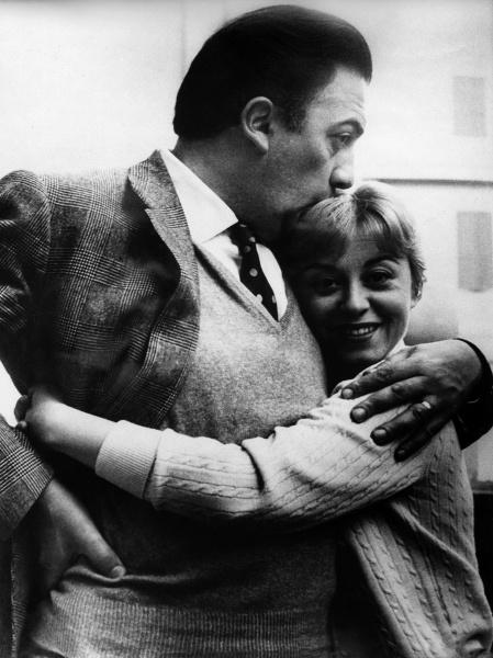 Federico Fellini & Giulietta Masina