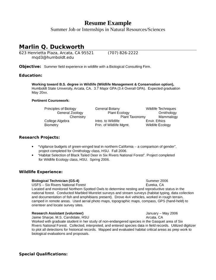 Resume Examples Student Resume Student Cv Examples Cover Letter