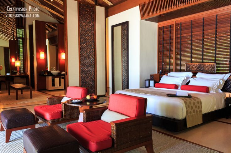 inside of villa One&Only Reethi Rah