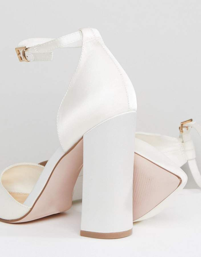 Asos Design Pebble Bridal Pointed High Heels Pebble Design Asos Bride Heels Bridal Shoes Comfortable Wedding Heels