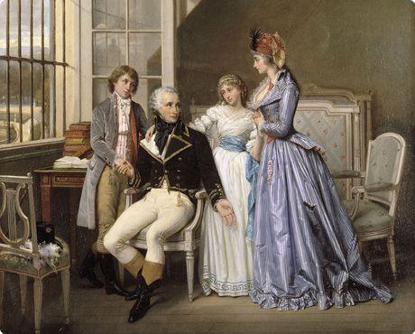 Hector Viger, Visite de Joséphine de Beauharnais à son mari Alexandre détenu au Luxembourg