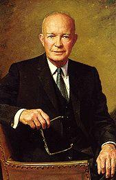 Portrait of Dwight D. Eisenhower - 34th President