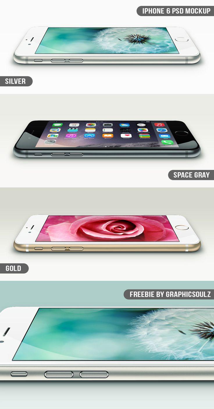Free iPhone 6 PSD Mockup (2,5MB) | graphicsoulz.com