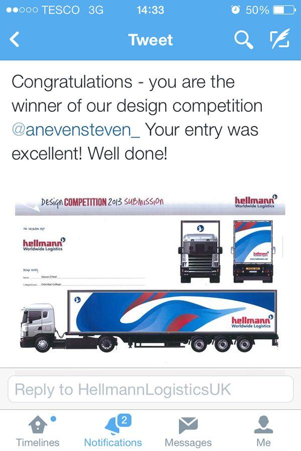 Hellmann Worldwide Logistics - Competition winner