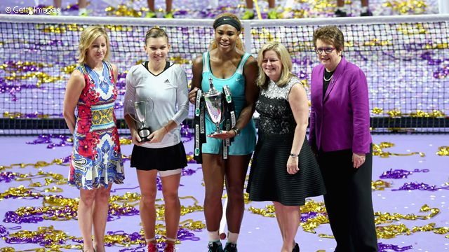 It was Williams' WTA-leading seventh title of the year - nobody else on the tour won more than four.