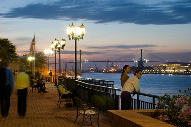 USA Today lists the Top 10 Attractions in Savannah, Georgia