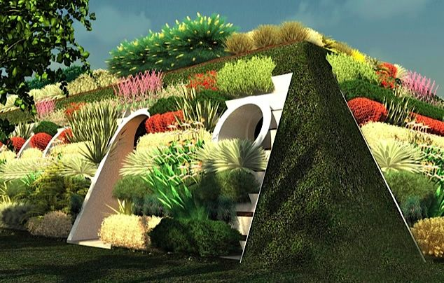 Green-House…. Earth-Sheltered Housing