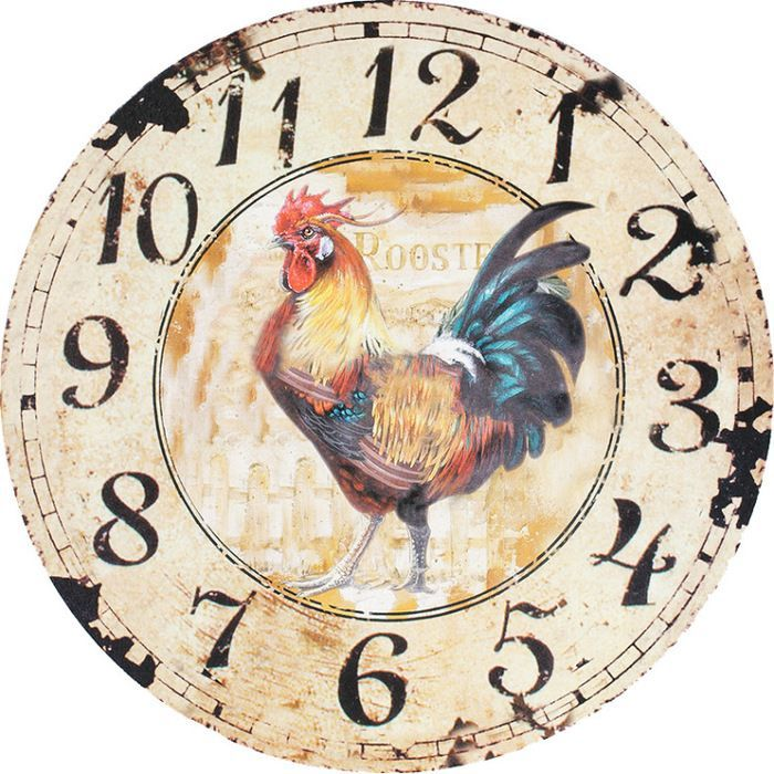 Reloj vintage para cocina cocina im genes para cuadros y - Reloj pared vintage ...