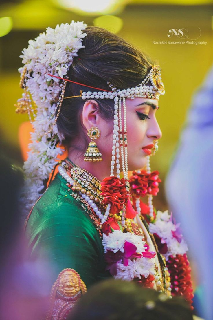 An Exquisite Maharashtrian Wedding Celebration with Breathtaking Decor
