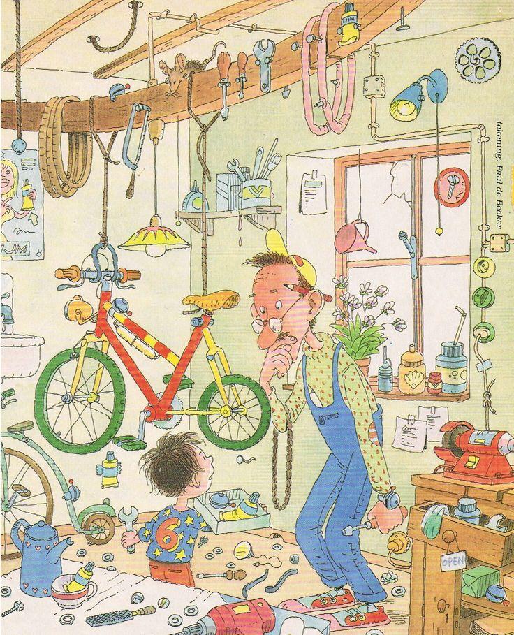 Praatplaat fiets Bij Vicky Taelman nog veel meer praatplaten te vinden.