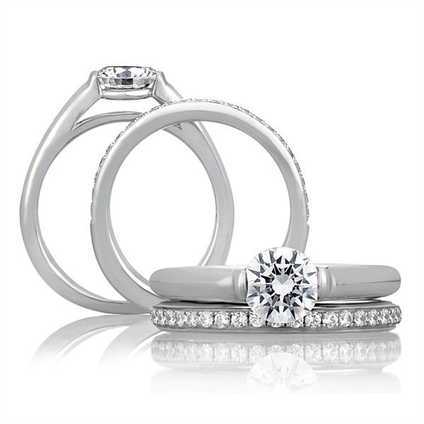 Amazing A Jaffe Engagement Ring solomonbrothers