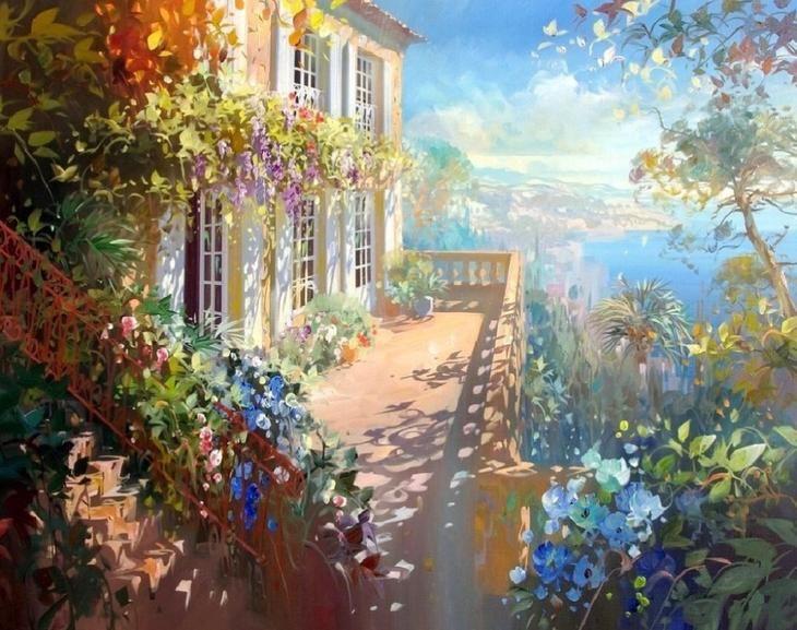 Солнечный мир Лорана Парселье