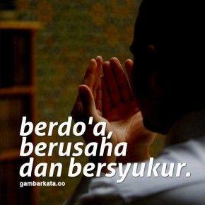 Gambar Kata Kata Doa Islami