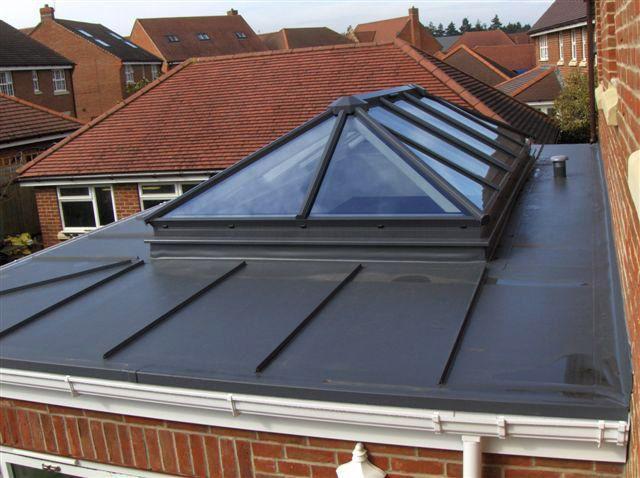 Aluminium Rooflights   Skylights Roof Lanterns   Pyramid Rooflights UK   Glass Roofs