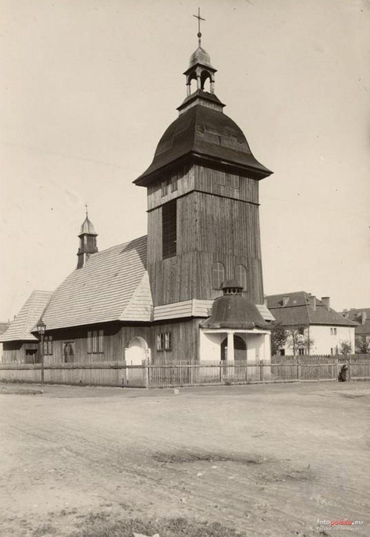 Dzielnica VIII Dębniki, Kraków - 1925 rok, stare zdjęcia