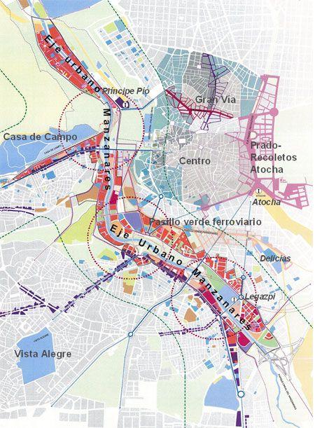 Urban-e   Plan de Renovación Urbana del entorno del río Manzanares en Madrid - Fernando Fernández + Alfredo Villanueva