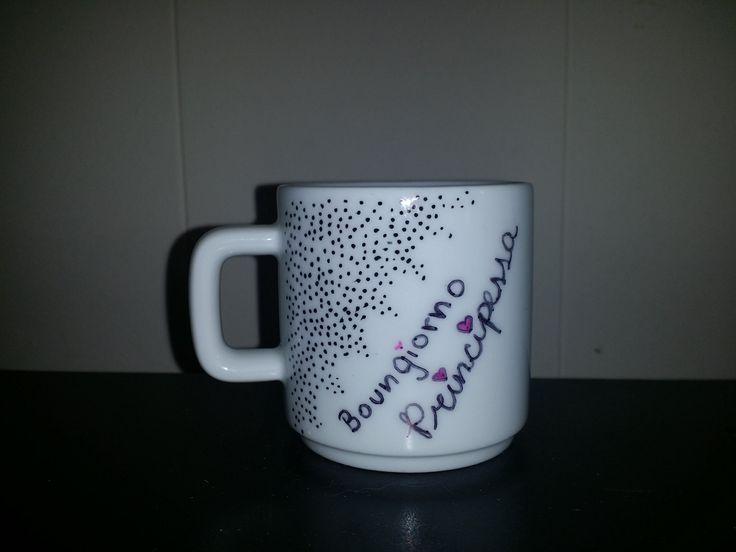 Mini Buongiorno Principessa mug by CustomizedCuriosity on Etsy, $2.99