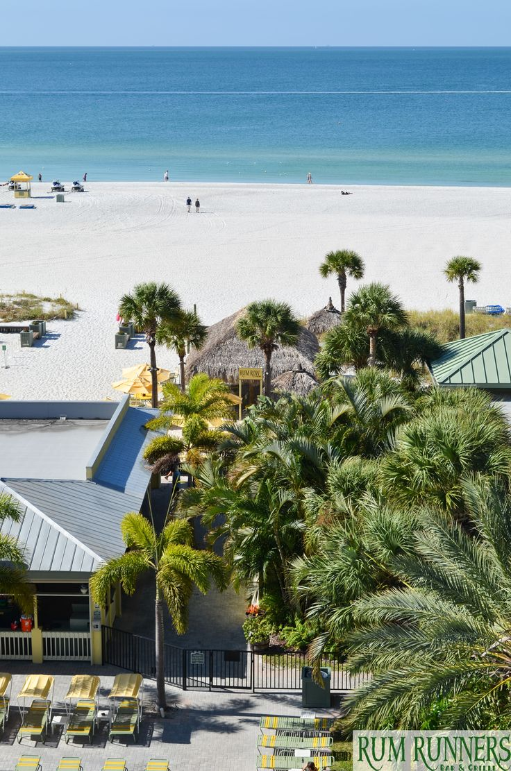 Tropical Paradise at Rum Runners Bar & Grille on St. Pete Beach, FL   #StPete #Beach #StPeteBeach #Florida #Tropical #Paradise #Fun #Green #Sand #Water #Family #Bar #Vacation #Relax #Celebrate #Sunshine