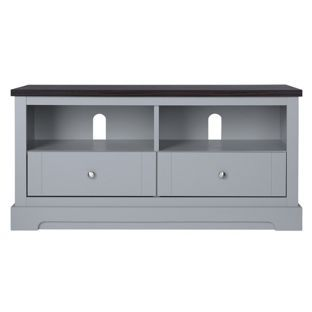 buy heart of house westbury 2 drawer tv unit grey at argosco