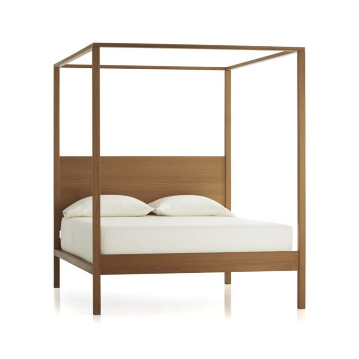 pleasant 4 poster bed frame. Crate and Barrel Osborn Four Poster Bed 32 best 4 poster beds images on Pinterest  Homes Bedroom ideas