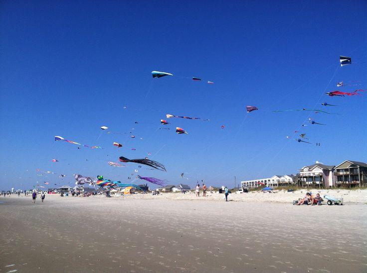 Kite Festival, Atlantic Beach, North Carolina