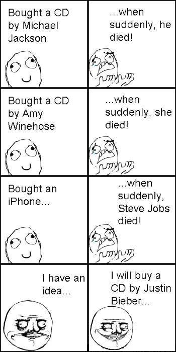 Rage Comic: When I Buy CD
