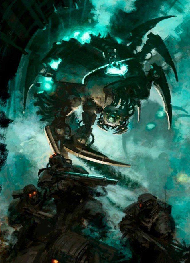 hellgun imperial_guard imperium kasrkin necron paul_dainton wraith