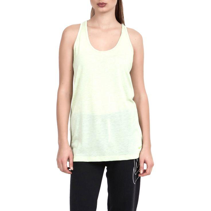 NIKE - Γυναικεία μπλούζα Nike πράσινη-κίτρινη μόνο 20.00€ #deals #style #fashion