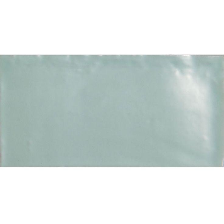 Laura Ashley - 22 Artisan Eau De Nil Gloss Wall Tiles - 150x75mm - LA51522