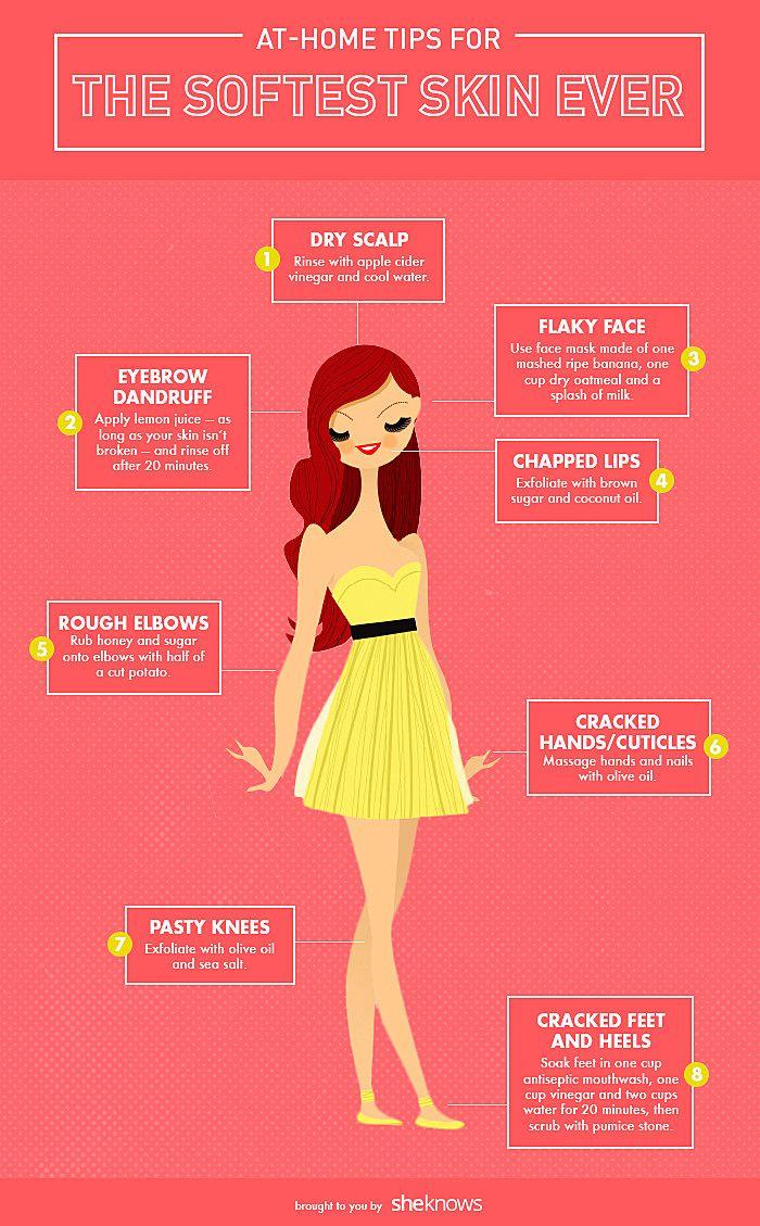 Dry skin remedies info