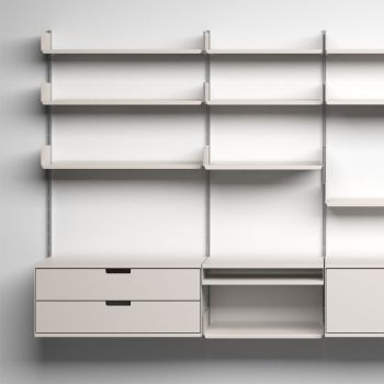 Good design | About Vitsœ | Vitsœ606 Universal Shelving System, 1960, by Dieter Rams for Vitsœ