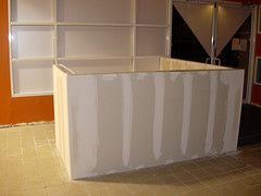 How To Make A Reception Desk