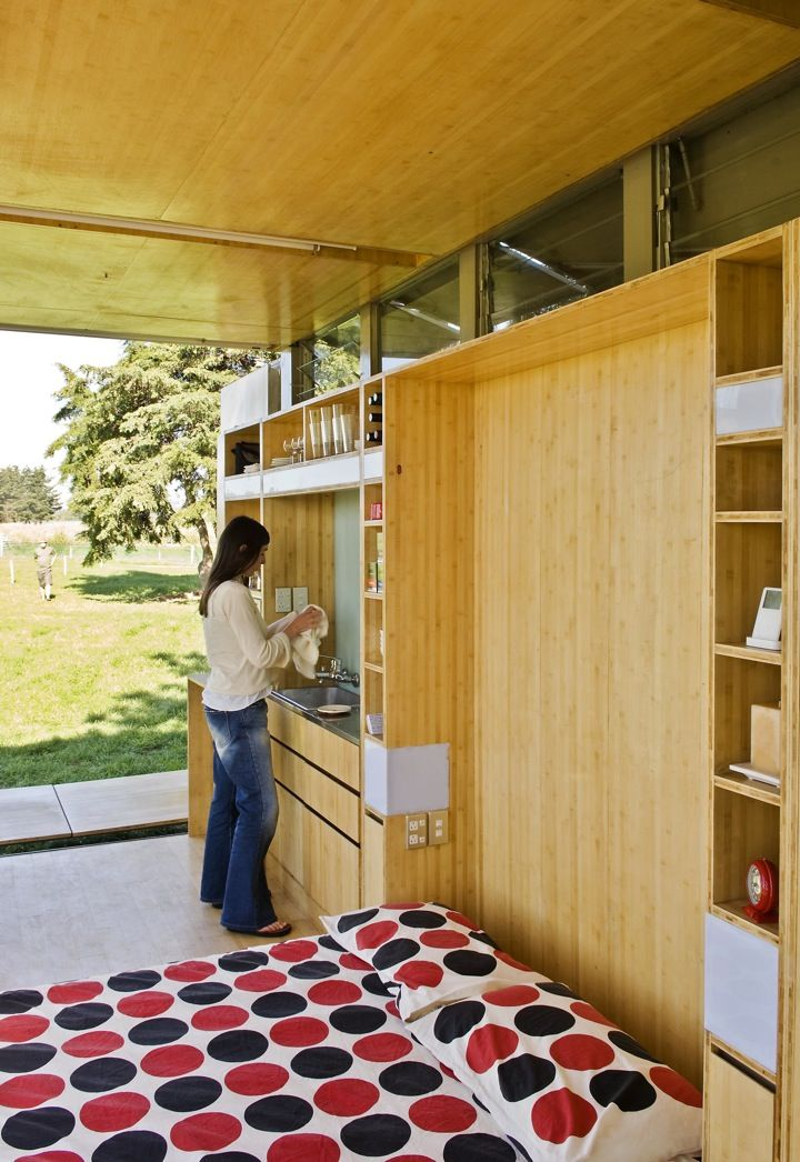 Port A Bach Container ArchitectureHippie HousePrefab HousesTiny