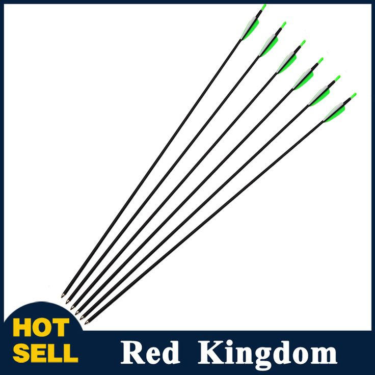 6pc/lot  New Carbon Arrows Hunting Bow Arrows Spine700 OD7mm  For Recure Bow Carbon Arrow Archery Hunting/Shooting Free Shipping