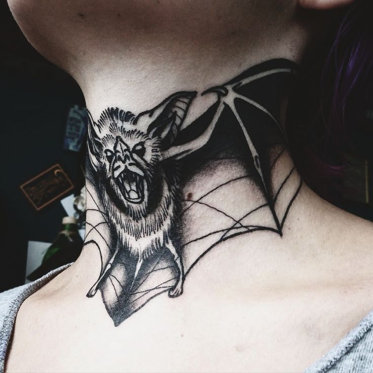 I love throat tattoos. I dont have the balls though