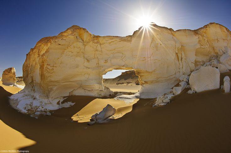 The White Desert in Egypt  Photo by Chris Mueller  Via Flickr / art-project