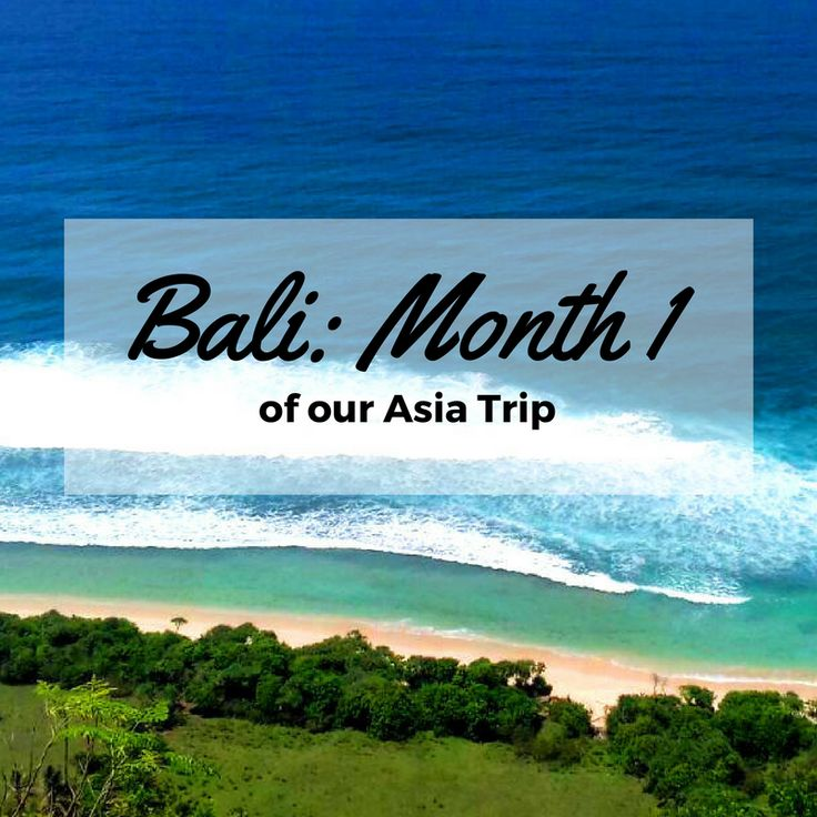Bali became a first destination of our Asia Trip. Read about the first impression we got about this island and how is travelling, working and living here.
