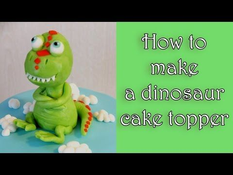 how to make gumpaste dinosaurs
