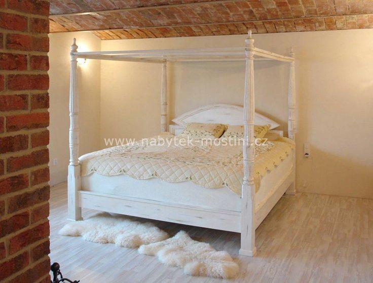 Výsledek obrázku pro postel s nebesy prodej