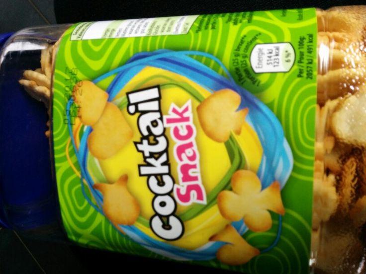 Coctail snack lactosevrij aldi